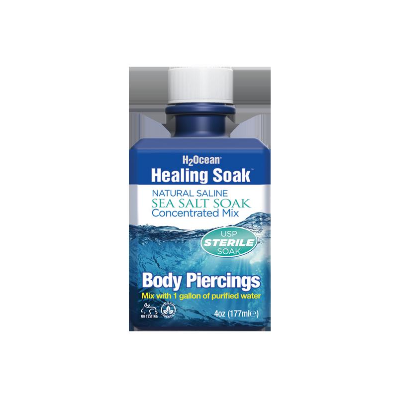 4oz Healing Soak Sea Salt Concentrate H2ocean App Store